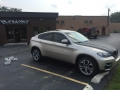 BMW X6 full color change from Gold to 3M Pearl White (1).JPG